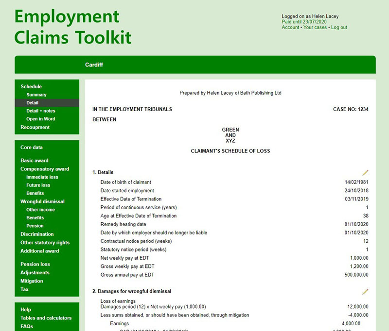 Employment Claims Toolkit image